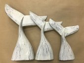 Set Of 3 Whale Tails  Please Click the image for more information.