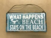 What Happens On The Beach Sign  Please Click the image for more information.