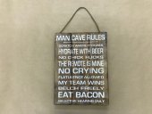Man Cave Rules Sign  Please Click the image for more information.