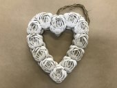 Medium Shell Heart Wreath  Please Click the image for more information.