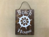 Beach House Wheel Sign  Please Click the image for more information.