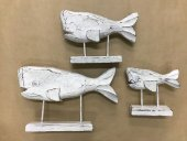 Set Of 3 Whales On Stand  Please Click the image for more information.
