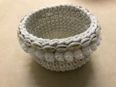 Crochet & Shell Plant Holder  Please Click the image for more information.