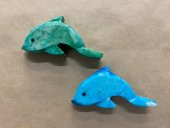Coloured Stone Dolphin  Please Click the image for more information.