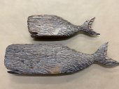 Pair Of Rustic Whales  Please Click the image for more information.