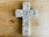 Large Double Sided Shell Cross  Please Click the image for more information.