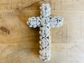 Small Double Sided Shell Cross  Please Click the image for more information.