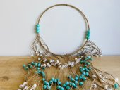 Large Beaded Tribal Necklace  Please Click the image for more information.