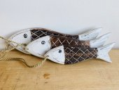 Set Of 3 Fish(crosshatch)  Please Click the image for more information.