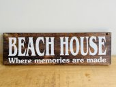 Beach House Memories Sign  Please Click the image for more information.