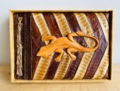 seed pod albums with  animal carvings  Please Click the image for more information.
