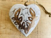 Carved White Heart  Please Click the image for more information.