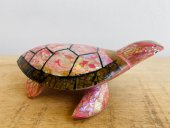 Large shell inlayed turtle  Please Click the image for more information.
