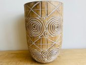 Carved Tribal Planter  Please Click the image for more information.