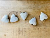 Small Heart Garland Set Of 5  Please Click the image for more information.
