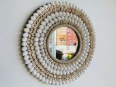 Large Shell Mirror  Please Click the image for more information.