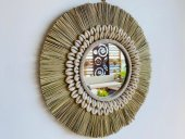 Shell & Grass Mirror  Please Click the image for more information.