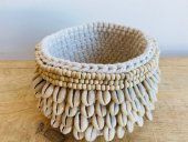 Large Shell & Macrame Holder  Please Click the image for more information.