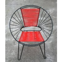 Moon Chair A classic 60s style with a modern edgeThe Moon Chair is a great indoor  outdoor piece to add a touch of accent colour So  . Please Click the image for more information.