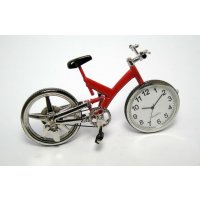 Bicycle clock Red bicycle clock is great gift for the cycling enthusiast Please Click the image for more information.