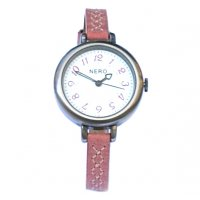 Claudia The  Claudia watch by NERO has a  beautiful   Italian nubuck leather band with detailed cross stitching. Please Click the image for more information.