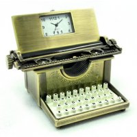 Old typewriter Reminiscent of the 1950s and the retro era the antique style typewriter clock has appeal across the agesAv. Please Click the image for more information.