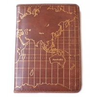 Leather map  journal  Absolutely stunning  series of classic leather journals  designed by NERO Antique leather finish with faded gold map print gives this hand made journal an old world feelPages are handmade and are wood freeA lov. Please Click the image for more information.
