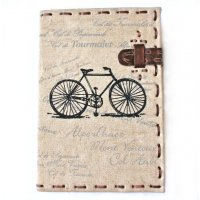 Bicycle rider  This NERO natural canvas journals is designed  in the Adelaide Hills in South AustraliaGreat for the cycling enthusiast it features the climbs of the Tour de France on the cover  inner sections can be used as a diary for sport or pleasureThe j. Please Click the image for more information.