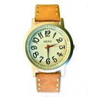 Casablanca Beautiful and stylish the Casablanca watch is a superb design Contrast detail stitching on the leather band complements the large classic numbers on the dial Sim. Please Click the image for more information.