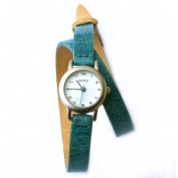 Vanessa turquoise NERO Vanessa watch features a double wrap of stunning Italian leather with a t layer of contrast leather and contrast keepers. Please Click the image for more information.