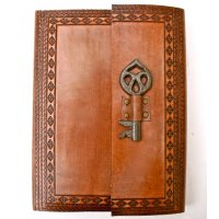 Antique key journal Classic NERO leather journal with antique finish and an old metal kay closureTogether with beautiful hand made wood free paper this a journal from the pastBeau. Please Click the image for more information.