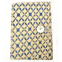 Antique tile print journal - blue New series of old Moroccan tile prints designed by NERO in the  Adelaide Hills in South AustraliaThe designs are accentuated by a contrasting button closureIns. Please Click the image for more information.