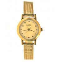 Camille antique gold Designed in Australia by NERO the Camille watch has a sepia brushed gold dial and understated easy to read black numbers. Please Click the image for more information.