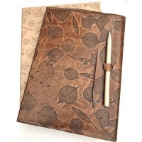 Leather leaf journal Absolutely stunning  series of leather journals  designed by NERO and inspired by the natural beauty of the Adelaide Hills in South Australia. Please Click the image for more information.