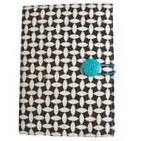 Canvas Moroccan  print journal - black/white Absolutely stunning  series of Moroccan print journals designed by NERO in the  Adelaide Hills in South Australia. Please Click the image for more information.