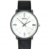 Alexia black Alexia by N E R O is a classic design with a subtle genuine mother of pearl dial The gentle glow of the dial and the natural sliver hands wonderfully compliment the polished silver finish case and the bespoke Italian leather band3 A. Please Click the image for more information.