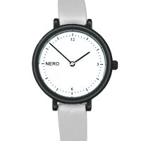 Zara blue azure Designed in Australia by NERO this version of the Zara watch has a clear white dial  black numbers and white second hand to create an individual bespoke watchA. Please Click the image for more information.
