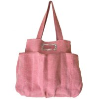 Elke pink Made from soft washed jute it is large enough for multi purpose  great to hold babys essentialsPockets on the side are useful of holding bottles or fragile itemsEcofr. Please Click the image for more information.