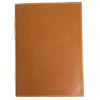 Portsea - clay Designed by NERO in Australia this classic series of natural oily matt leather  journals is hand made . Please Click the image for more information.