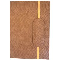 Bottego Designed by NERO in Australia this classic series of journals in  matt suede croco finish is hand made . Please Click the image for more information.