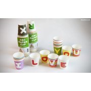 ABC Paper Cups 30 paper cups of the alphabet set from A to Z are randomly mixed together Please Click the image for more information.