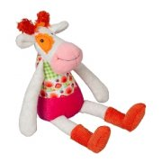 Ebulobo Anemone the Cow This is little Anemone the Cow from the Peace  Love la Happy Farm Collection  Take her home with youThe Happy Farm is a sweet trendy animal family who is ecofriendly and lives in a quiet rural community They cul. Please Click the image for more information.