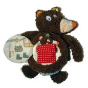 Woodours Baby Bear Cloth Book SOLD OUT The Woodbear family is about love and tenderness between a daddy and his baby  A cloth book Please Click the image for more information.