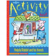 Eeboo Helpful Rabbit Activity Book  Lend a helpful hand and help Rabbit go about his day From a messy yard to friends in a fix there are plenty of problems to solve before the sun goes downAg. Please Click the image for more information.