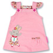 Olive and Moss Betty the Bunny Summer Dress This pretty in pink betty the bunny sun dress is perfect for those long summer days with its bright design and comfortable wear it is a must have for any little girl . Please Click the image for more information.