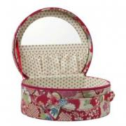 Willow and Finch Waterlilly Vanity Case This classic old style vanity case is beautifully made with a zip opening Inside is a spacious area to store your special possessions or use as a make up case . Please Click the image for more information.