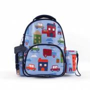 Penny Scallan Big City Backpack Medium SOLD OUT This Big City medium backpack from Penny Scallan is ideal for school kinder sports or play datesSize W26 x H34 x D16cmMaterial. Please Click the image for more information.