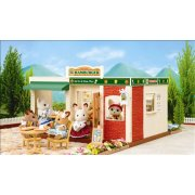 Sylvanian Families Hamburger Restaurant SOLD OUT The Hamburger Restaurant is perfect for all the family Theres plenty of seating inside and out and there is even a drive through service Syc. Please Click the image for more information.