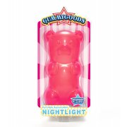 GummyGood Gummy Bear Night Light pink SOLD OUT Give this practical yet totally gorgeous bear a big belly squeeze and he lights up the room with his long lasting LED light. Please Click the image for more information.