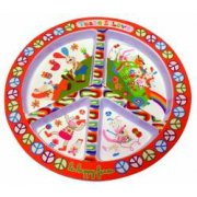 Ebulobo Happy Farm melamine plate This Happy Farm melamine plate from Ebulobo is decorated in bright fun prints of farm animals doing various activities around the farm Di. Please Click the image for more information.
